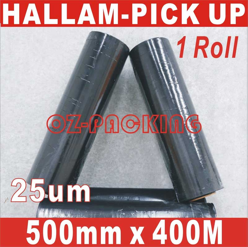 Pallet Wrap Black Hand Stretch Film