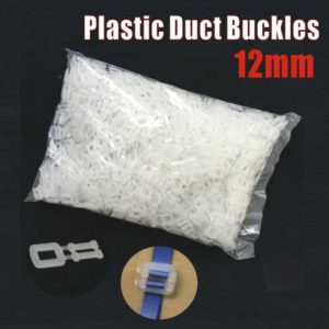 1000 pcs 12mm Plastic Duct Buckle