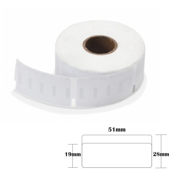 4 rolls 19x51mm Thermal Address Label Compatible with Dymo 11355