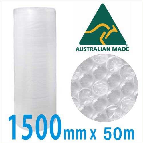 BubbleWrap 1500mm x 50m - 10mm