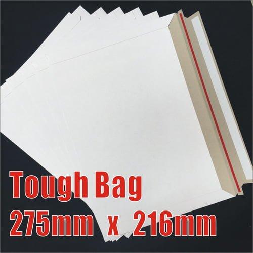 200pcs 275 x 216mm Cardboard Envelopes - Tough Bag