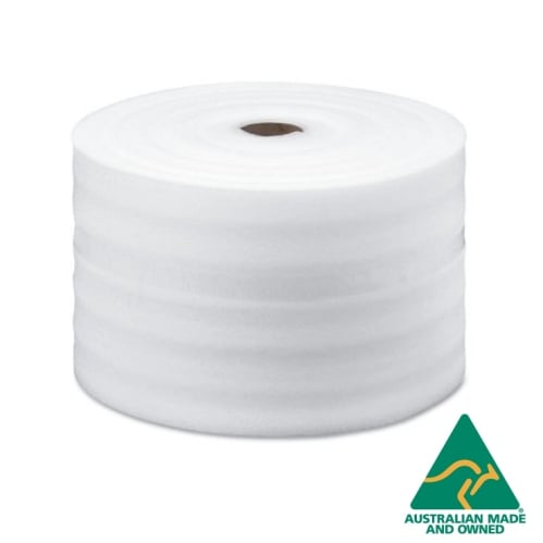 400mmx100m 1mm Thick Polyfoam Wrap