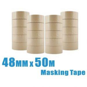 4 rolls 48mm x 50m General Purpose Masking Tape