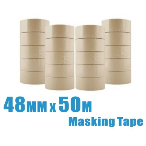 4 rolls 48mm x 50m General Purpose Masking Tape