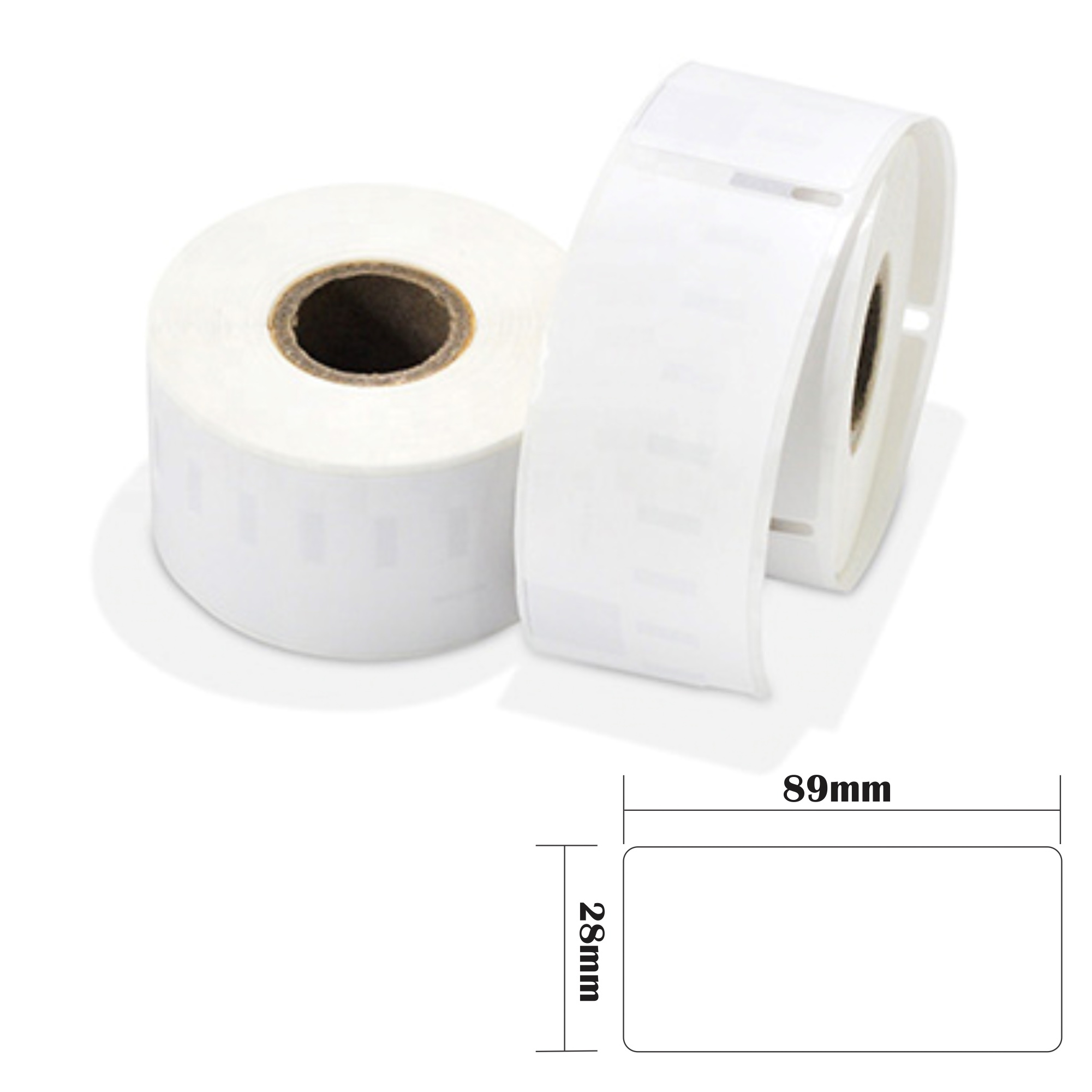 8 rolls 28x89mm Thermal Address Label Compatible with Dymo 99010