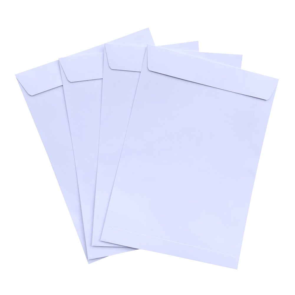 500pcs C5 White Plainface Envelopes 162mm x 229mm