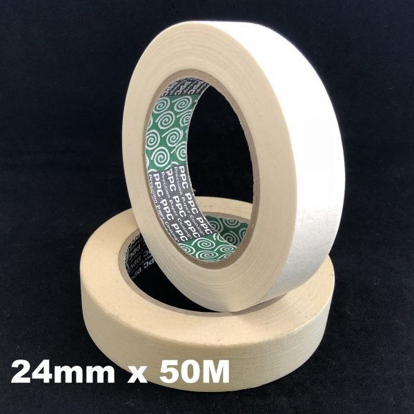 8 rolls 24mm x 50m General Purpose Masking Tape