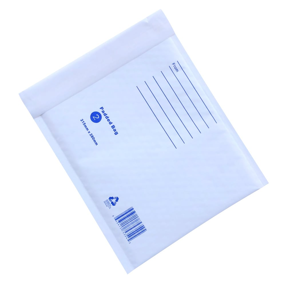100pcs 215mm x 280mm Bubble Padded Mailer Envelope