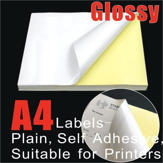 A4 Glossy Labels Supplier Australia