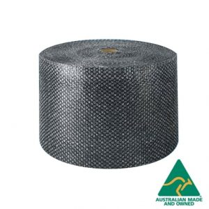 black bubble wrap