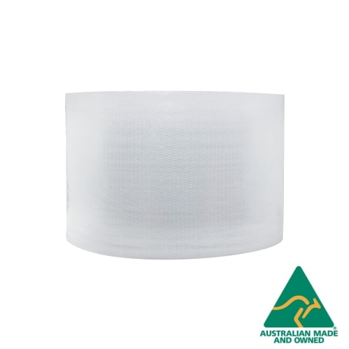 Clear 300mm x 100m Bubble Wrap 10mm Bubbles