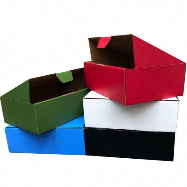 100pcs 220 x 160 x 77mm Diecut Mailing Box