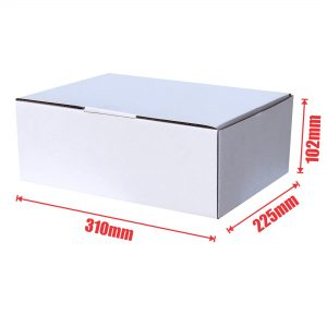 100pcs 310 x 225 x 102mm Diecut Mailing Box