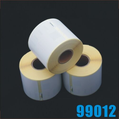 6 rolls 36x89mm Thermal Address Label Compatible with Dymo 99012