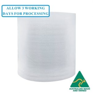 Foam backed bubble wrap