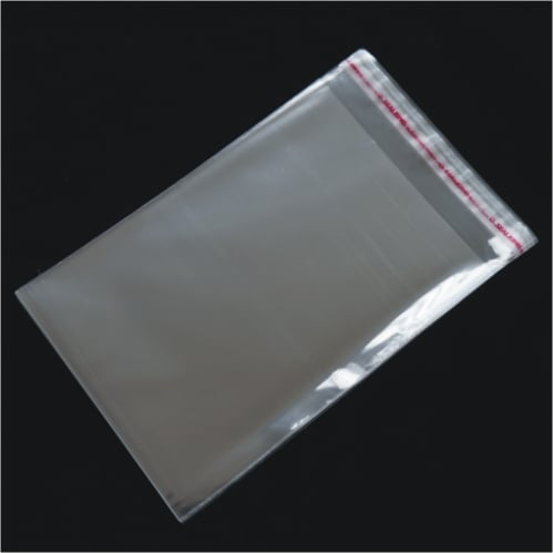 1000pcs 75mm x 100mm Polypropanlene BOPP Bag 35um