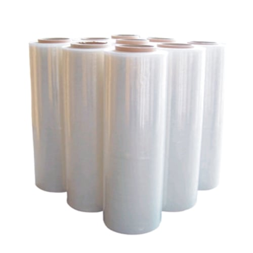 Wholesale 200 rolls Clear Hand Stretch Film Cast Pallet Wrap