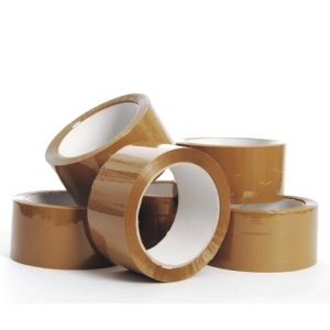 36 Rolls 48mm x 75m x 45mic Brown Packing Sealing Tapes