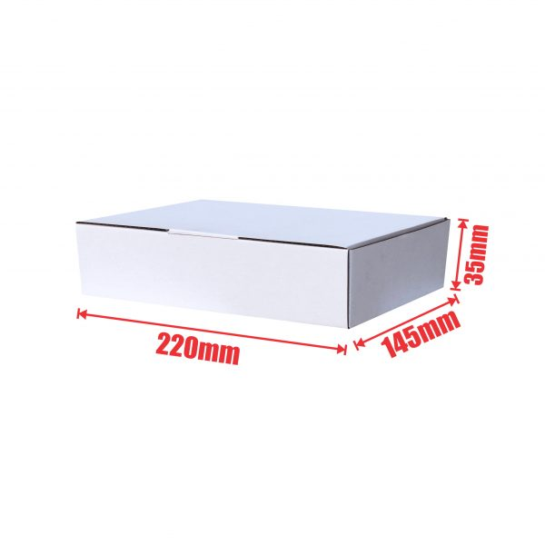 200pcs 220 x 145 x 35mm Diecut Mailing box