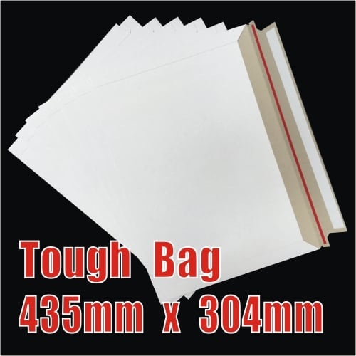 200pcs 435 x 304mm Cardboard Envelopes - Tough Bag