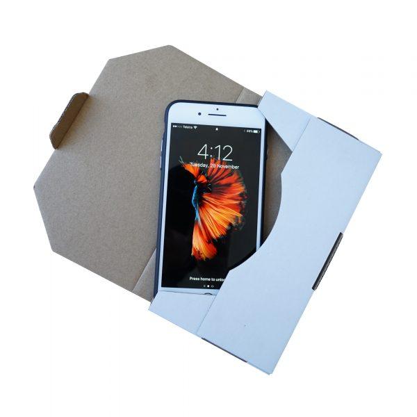 200pcs 180 x 100 x 16mm Diecut Flat Mailing Box