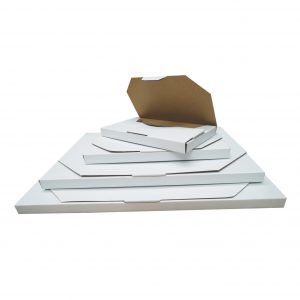 100pcs 350 x 250 x 16mm Diecut Flat Mailing Box