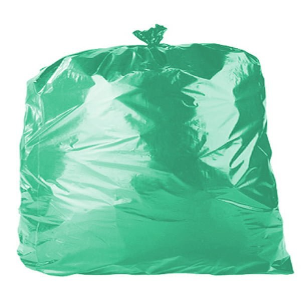 54Liter HEAVY DUTY Green Bin Liners Garbage Bags 250pcs