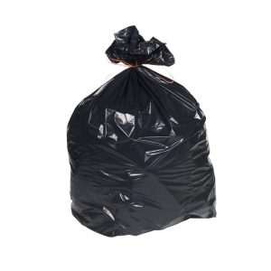 heavy duty black bin liner bags