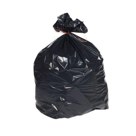 heavy duty black bin liner bags