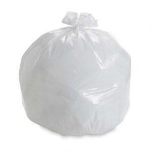 18Liter White Bin Liners Garbage Bags 1000pcs
