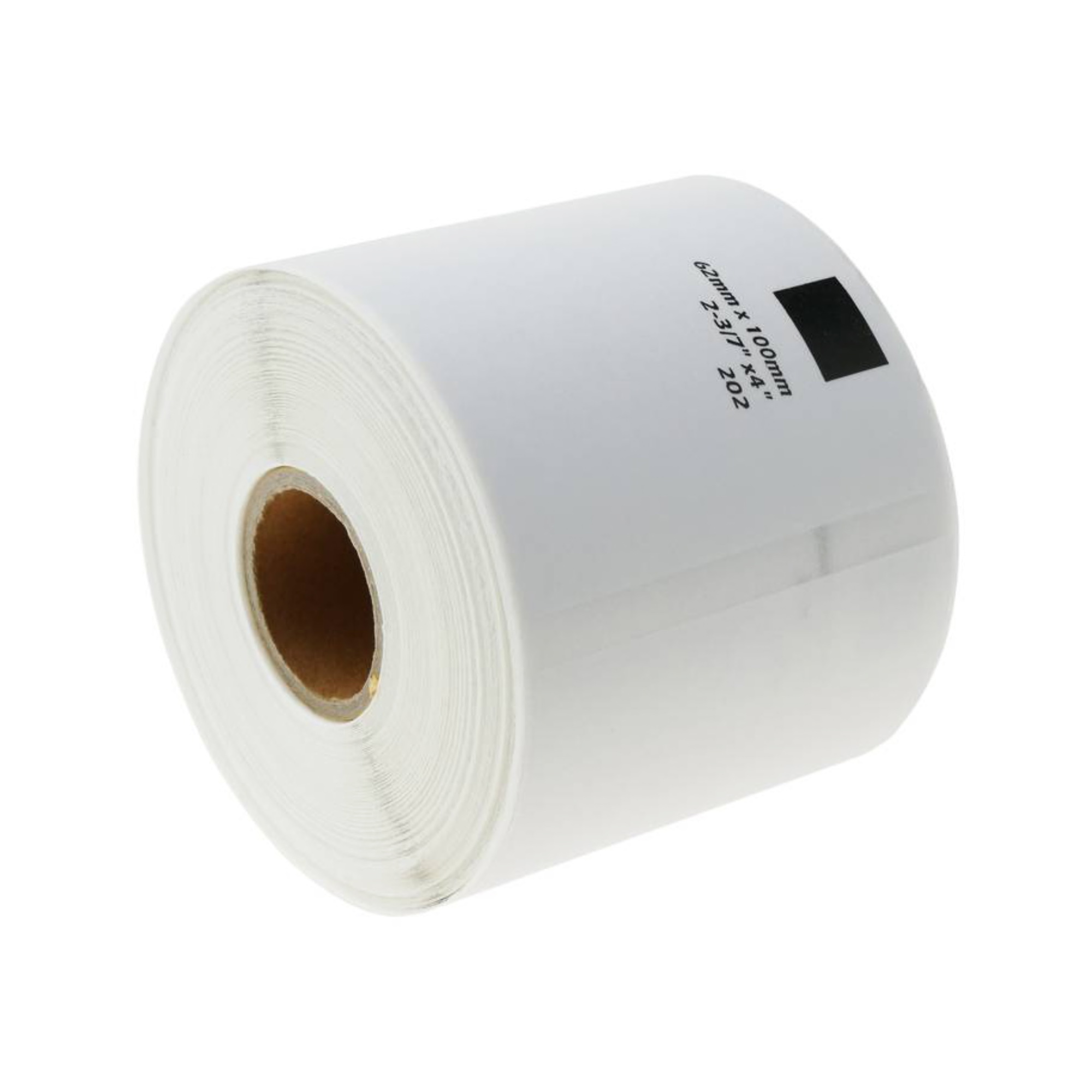 10 REFILL ROLLS DK11202 BROTHER COMPATIBLE SHIPPING LABELS 62x100mm