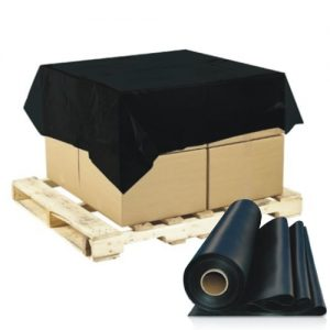 Pallet Caps Cover 1680mm x 1680mm 20um(250pcs/Roll) HDPE Black