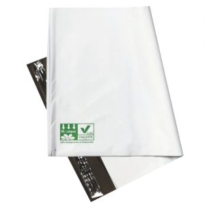 200pcs 100% Biodegradable and Compostable Satchels 450x600mm