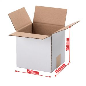 100pcs Regular Slotted 150 x 150 x 150mm Mailing Box