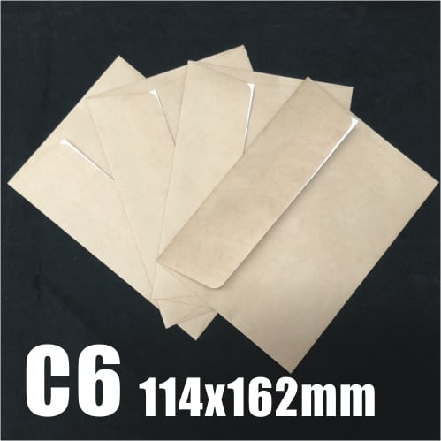 1000pcs C6 WALLET CRAFT STRIP SEAL ENVELOPE 114 x 162mm