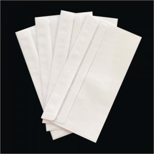 DLX PLAIN FACE WALLET SELF SEAL ENVELOPE 120 x 235MM