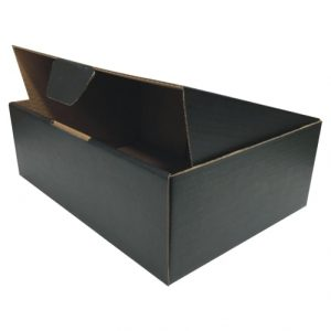 Black 100pcs 220 x 160 x 77mm Diecut Mailing Box