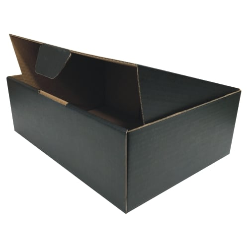 BLACK 100pcs 310 x 230 x 105mm A4 Diecut Mailing Box