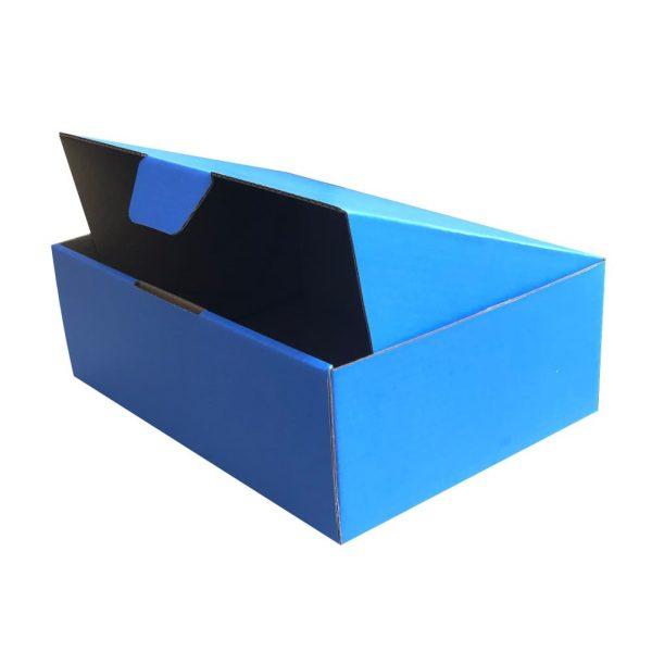 diecut mailing box Blue