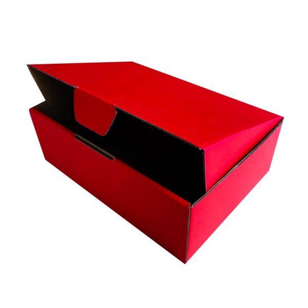 Diecut mailing box Red