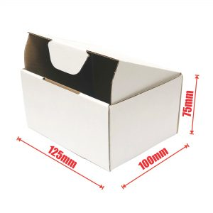 100pcs 125 x 100 x 75mm Diecut Mailing Box