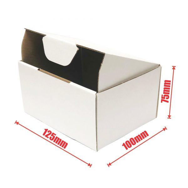 100pcs 125 x 100 x 75mm Diecut Mailing Box