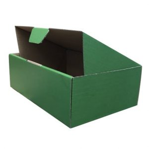 Green 100pcs 220 x 160 x 77mm Diecut Mailing Box