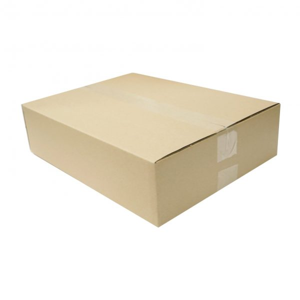 50pcs 365 x 280 x 95mm Brown Regular Slotted Mailing Box