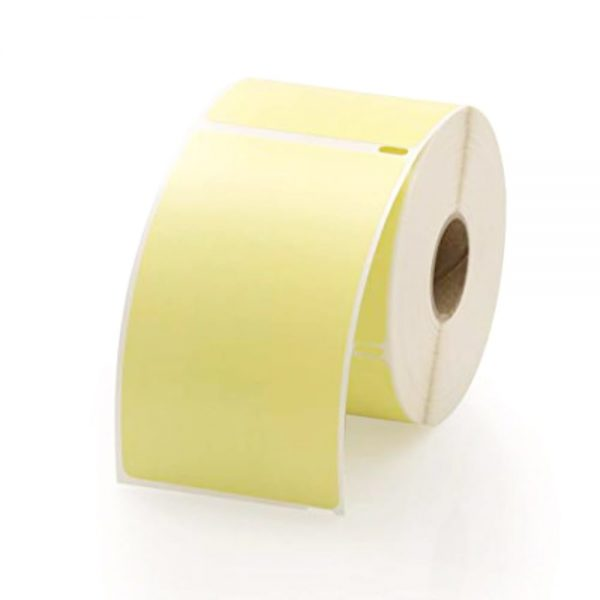 12rolls Direct Thermal Address Shipping Label 100mm x 150mm Yellow