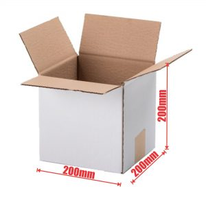 100pcs Regular Slotted 200 x 200 x 200mm Mailing Box