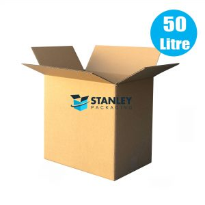25pcs 50Lt Large Moving Cardboard Carton Boxes Heavy Duty
