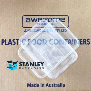 500sets 750ml Takeaway Food Container Set(500 Containers + 500 Lids)