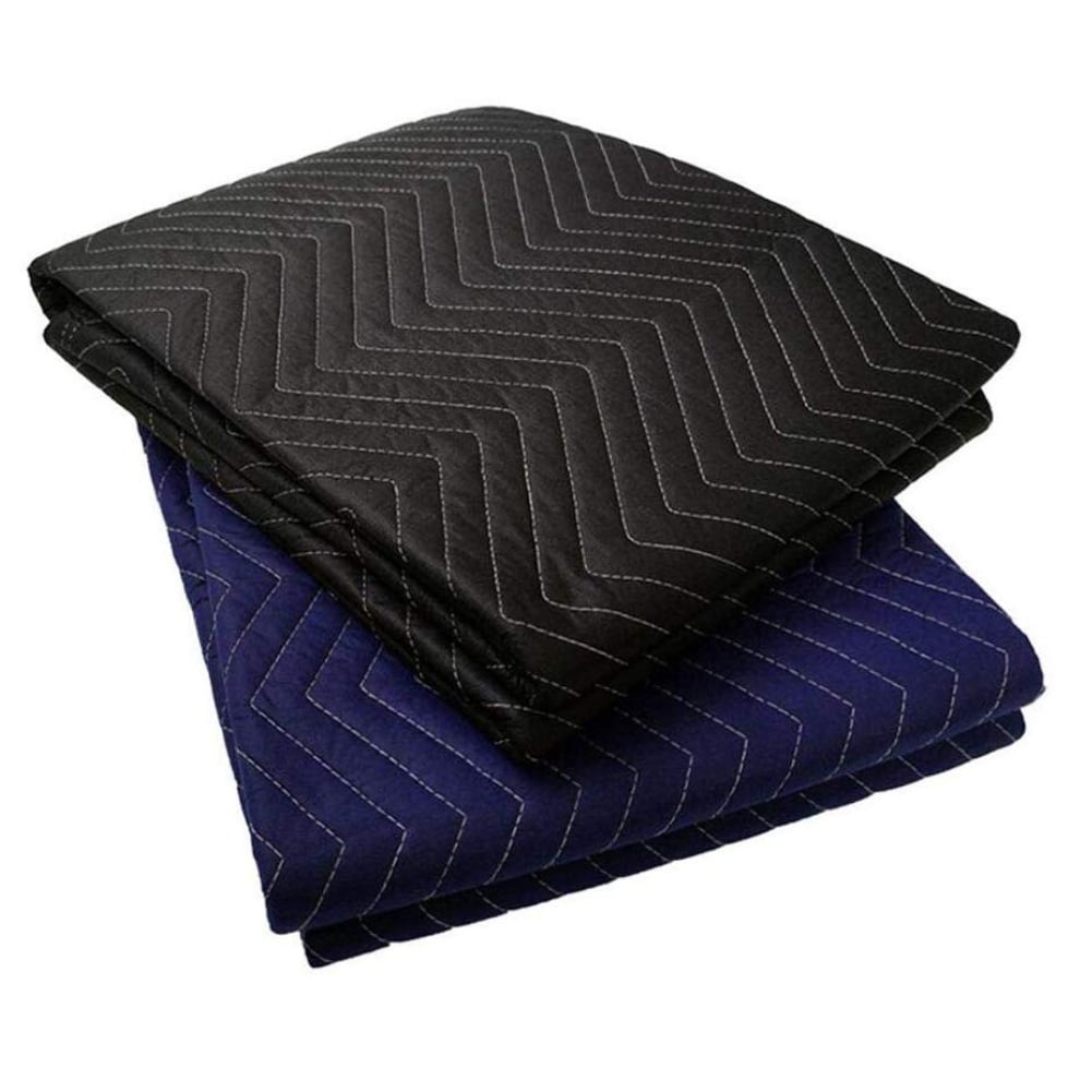 4 x Heavy Duty Furniture Protection Moving Blanket Quilted Removalist Pad