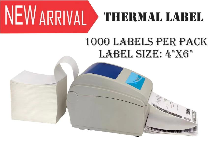 Thermal Direct Shipping Label
